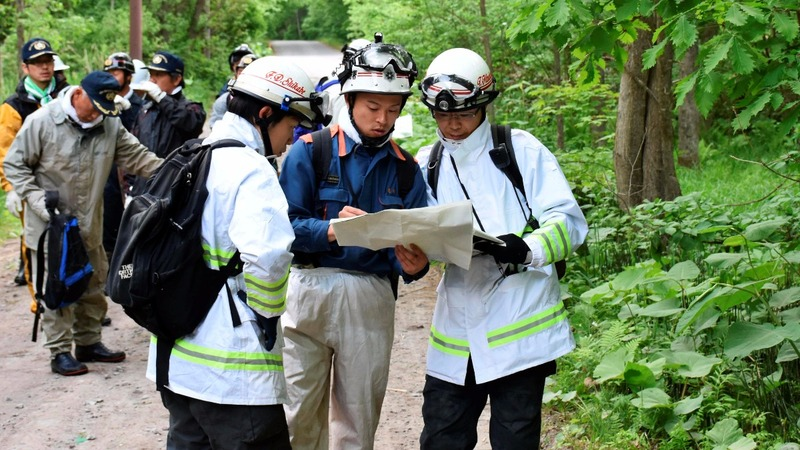 Desperate search for a missing boy in Japan