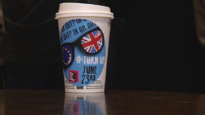 Tinder and coffee energise Brexit debate