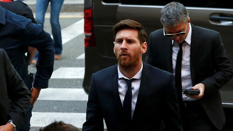 Football star Messi denies tax fraud
