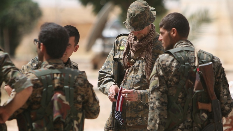 U.S. Special Ops back anti-ISIL offensive in Syria