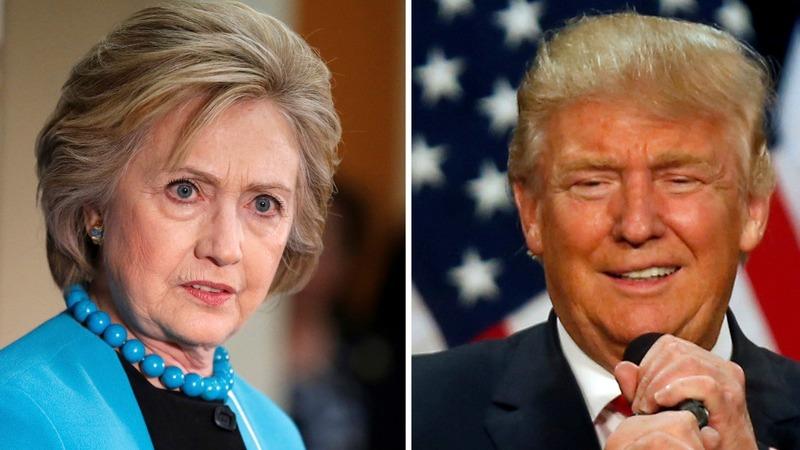 VERBATIM: Clinton and Trump trade blasts