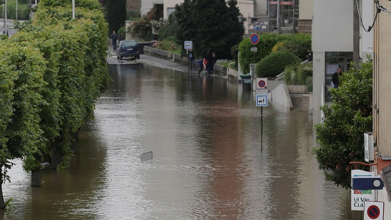 Paris under water after days of rain