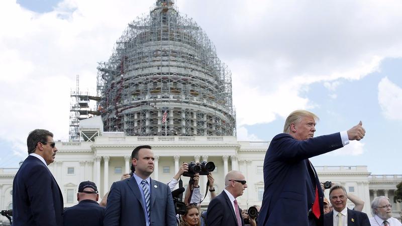 Trump rhetoric raises nerves on the Hill