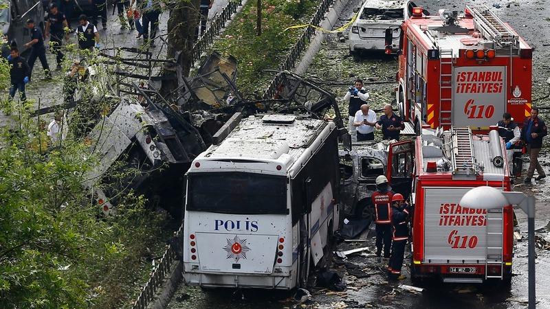 11 dead in Istanbul bomb blast