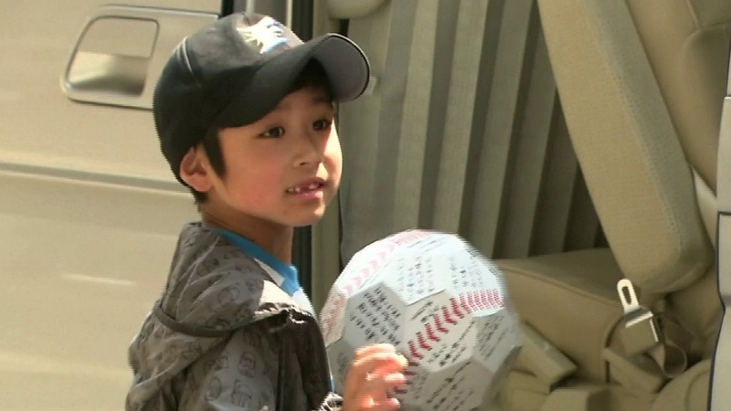 Japan 'babe in the woods' boy leaves hospital