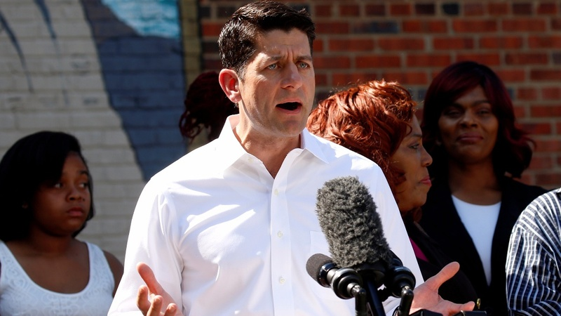 Ryan's slash at Trump deepens GOP disarray