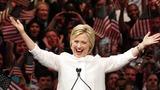 VERBATIM: Clinton basks in glow of Dem prize