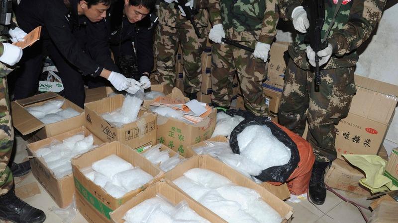 Asia's exploding meth market