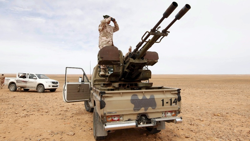 Libyan forces close in on IS-stronghold