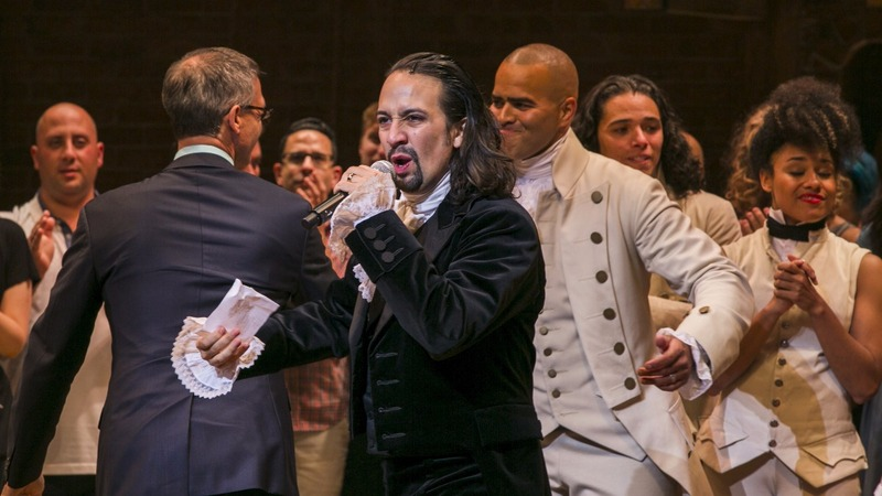 'Hamilton' sets record with ticket prices