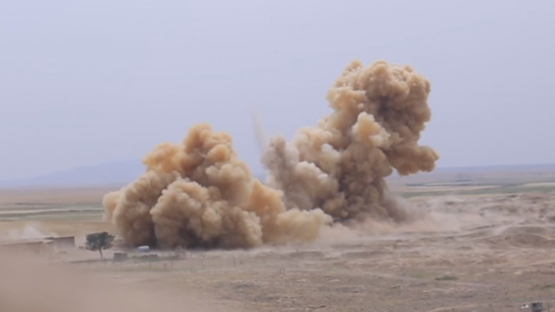 IS video shows Iraqi temple blown up