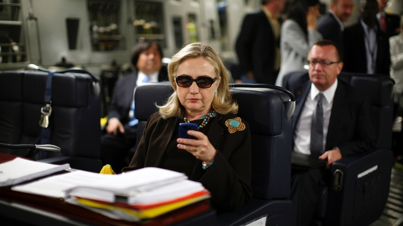 The image that kicked off Clinton's e-mail scandal