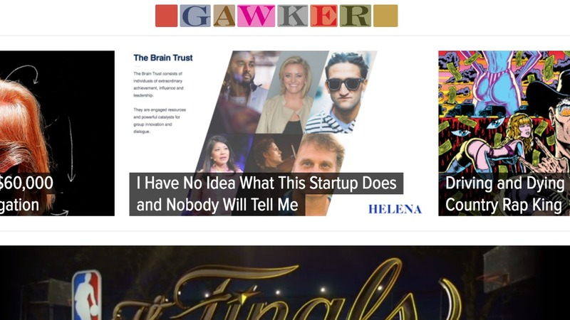 Gawker files for bankruptcy and is up for sale