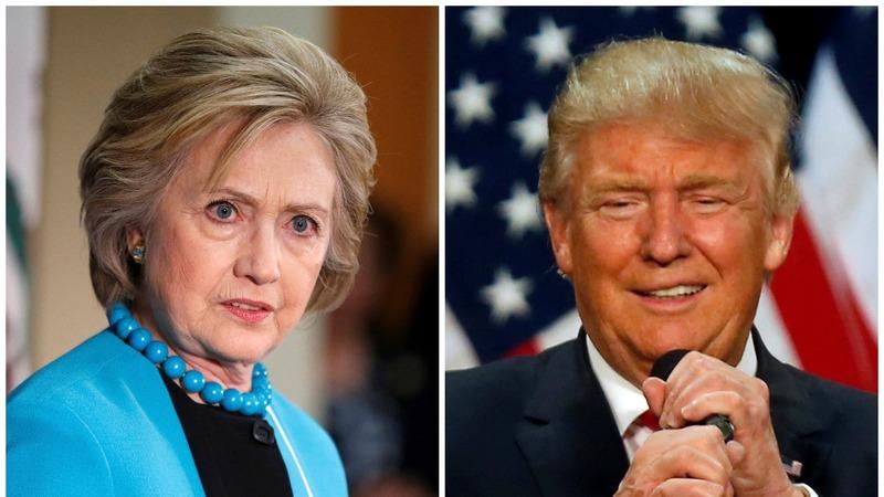 VERBATIM: Trump, Clinton trade sharp jabs in DC