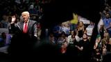 Trump hurls insults at Clinton, Obama at VA rally