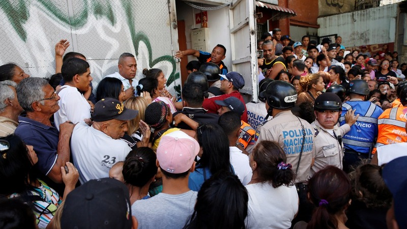 The cry of Venezuela: 'We want food!'
