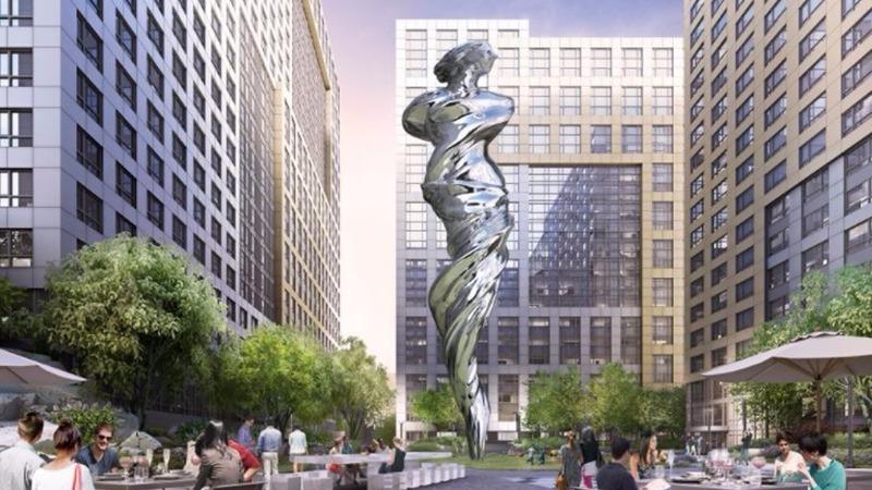 INSIGHT: Installing a 92-foot-tall Venus