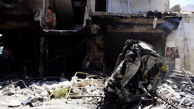 IS claims bombings near Shi'ite shrine
