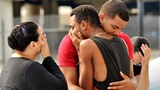 Tears, outrage and heightened security amid LGBT Pride