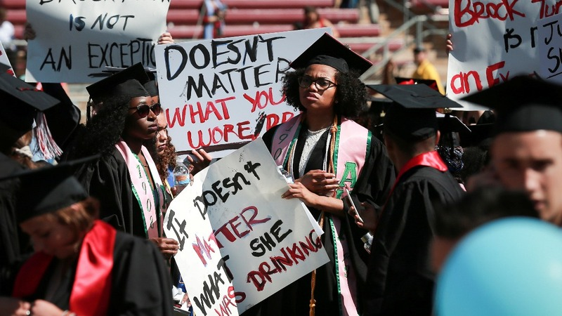 Stanford graduation overshadowed by rape case
