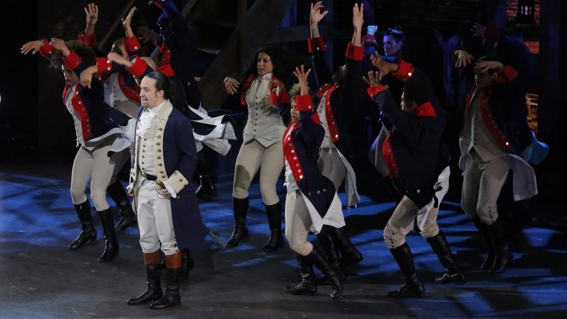 'Hamilton' sweeps a muted Tony Awards show