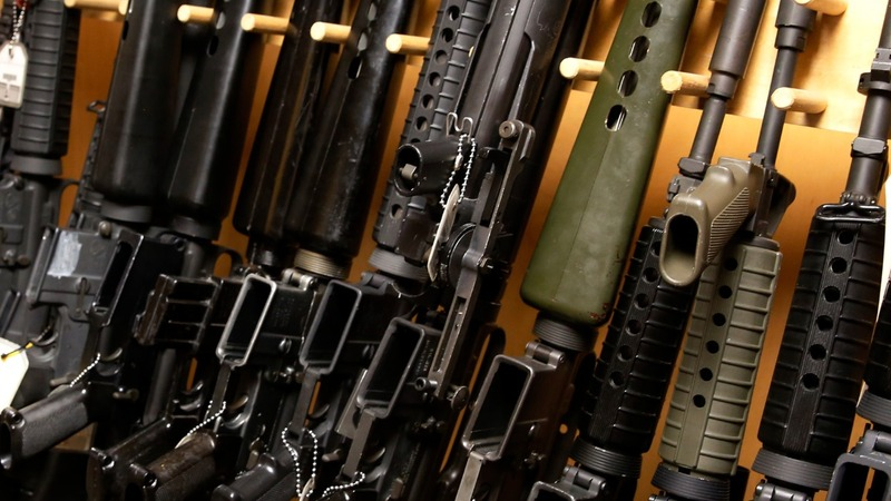 Orlando pours gas on debate over AR-15 rifles