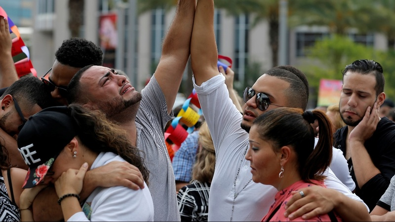 Orlando police, stretched thin, make room for public vigil
