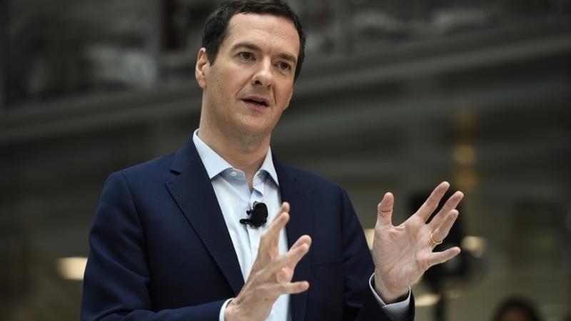 Osborne says beware Brexit budget cuts