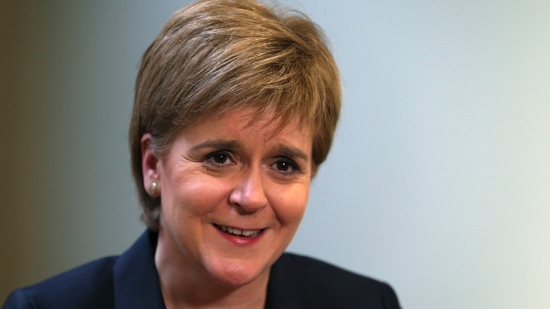 Scotland's Sturgeon: EU vote on knife-edge