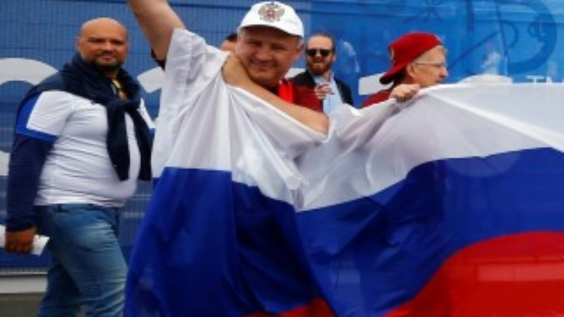 Tension as England, Russia fans meet again