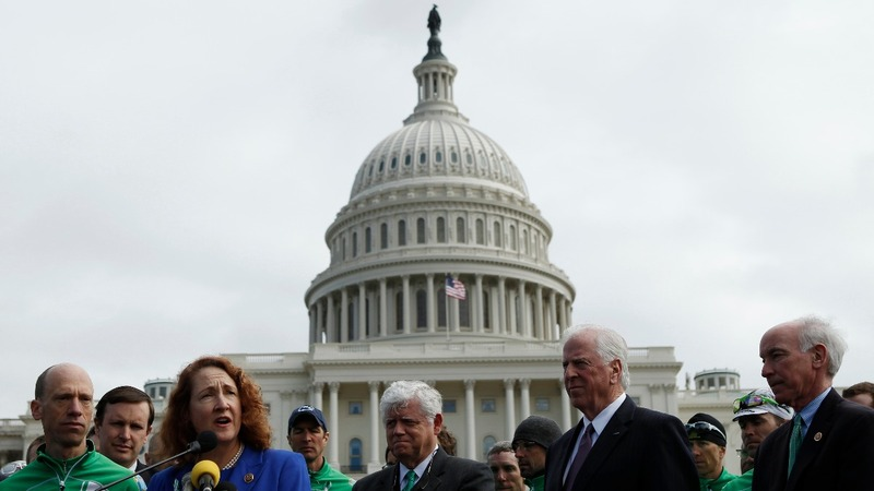 Dems take over Senate floor over gun control