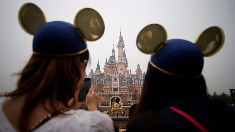 Disneyland Shanghai throws open its doors