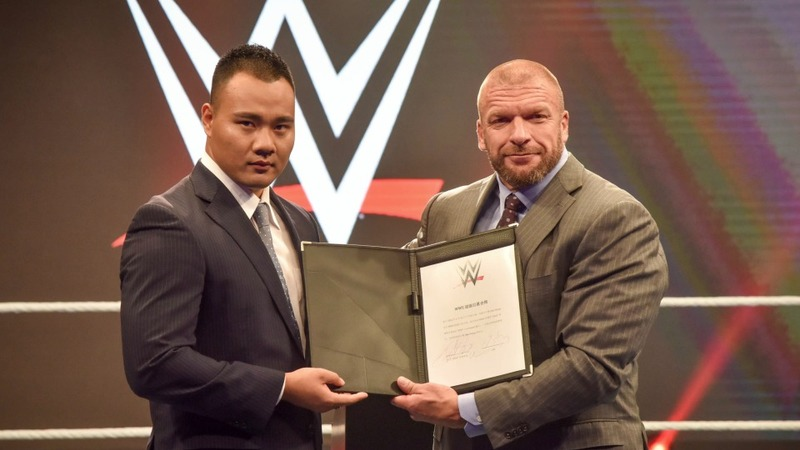 WWE signs first-ever Chinese wrestler