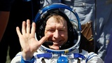 Astronaut trio returns to Earth