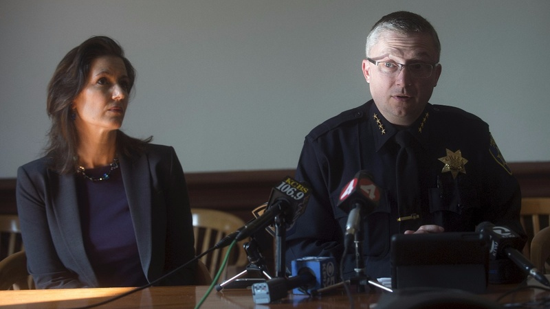 Third police chief out in Oakland amid sex scandal