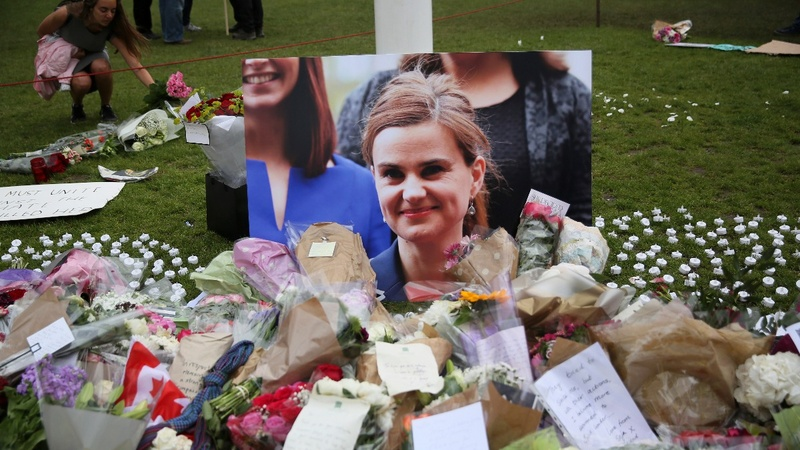 Church service for murdered MP Jo Cox