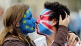 INSIGHT: Europeans kiss to show love for UK