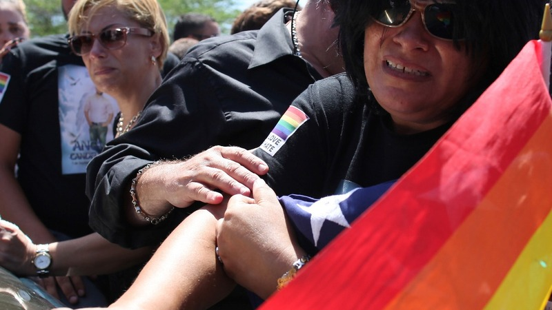 Tension at funerals for Orlando victims