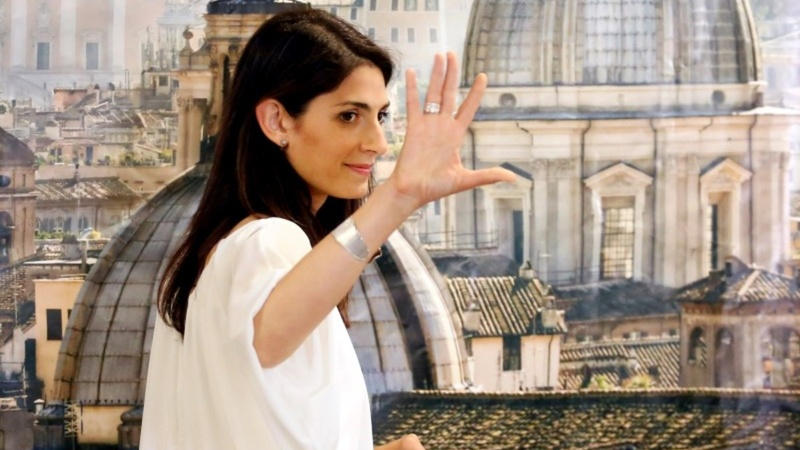 Rome picks woman mayor, rocks coalition