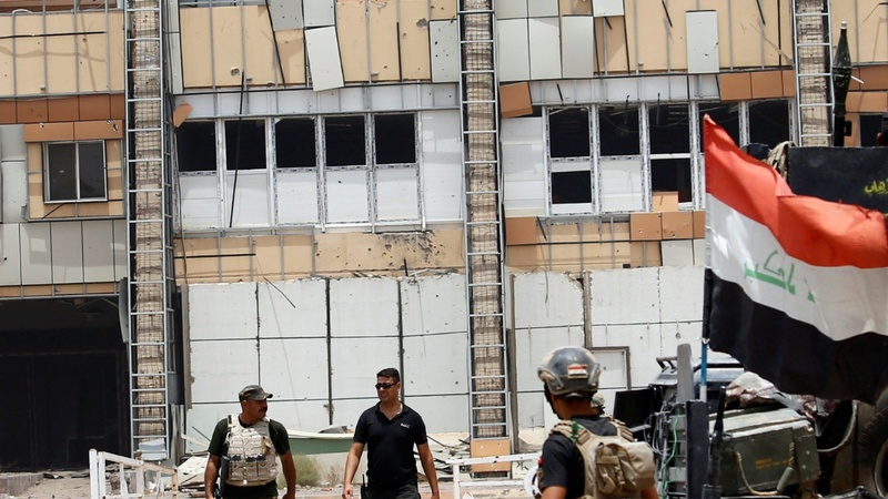 Iraqi troops seize Fallujah hospital from IS