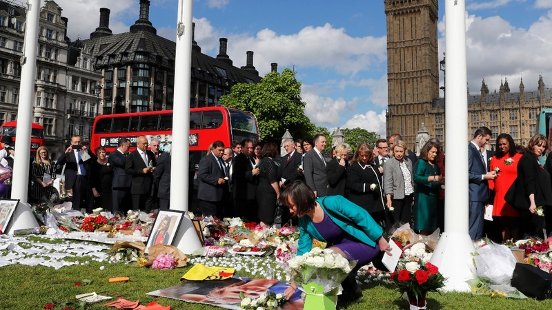 Parliament pays tribute to MP Jo Cox