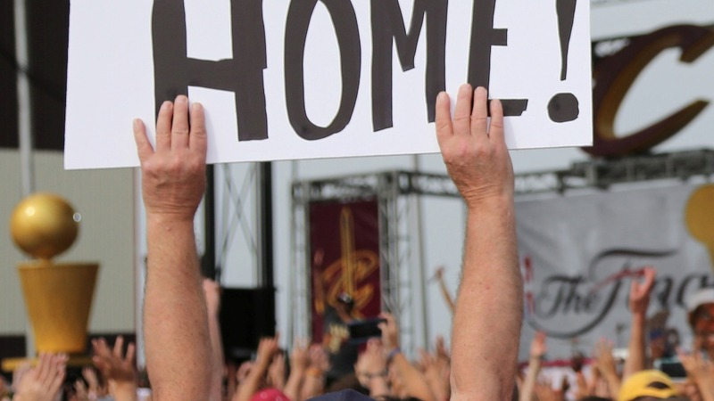 INSIGHT: Cleveland welcomes home Cavs