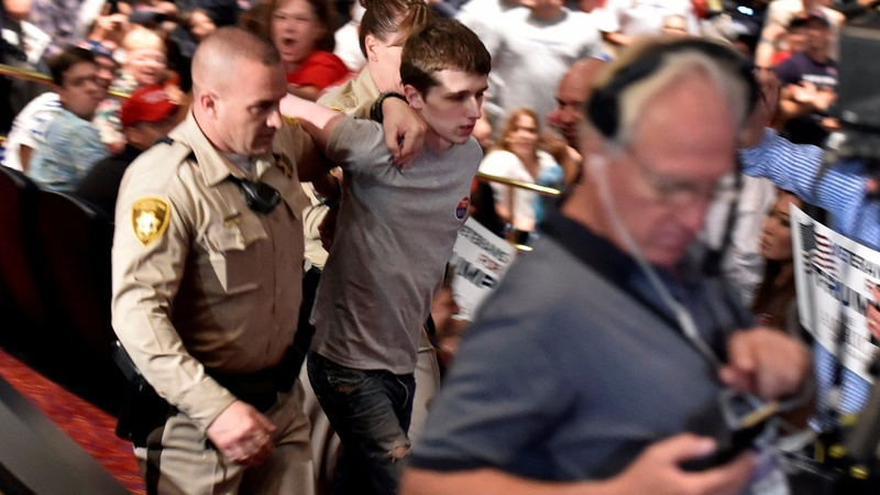 Man arrested says he wanted to kill Trump at rally