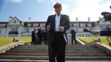 Donald Trump visits Scottish golf resorts