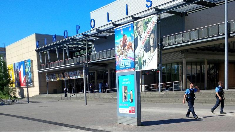 Gunman shot dead in German cinema shootings