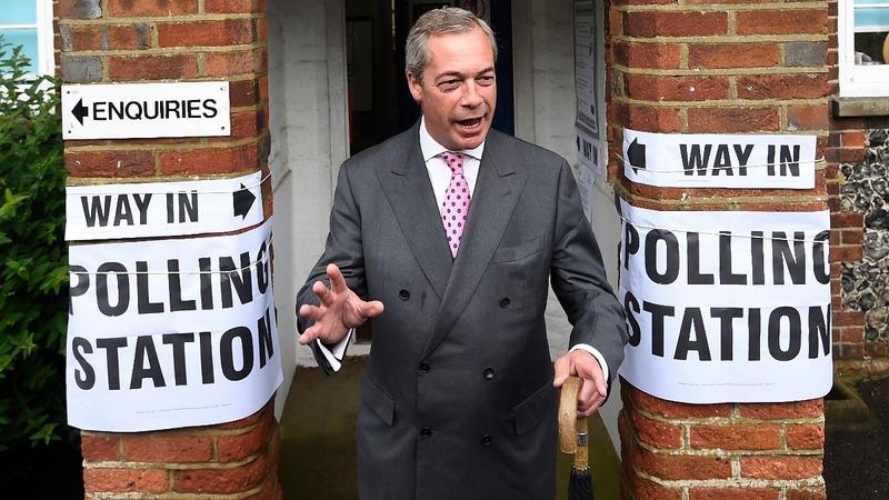 VERBATIM: Farage expects 'Remain' result