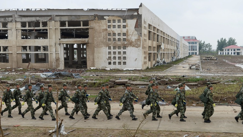 Desperate search for China tornado survivors