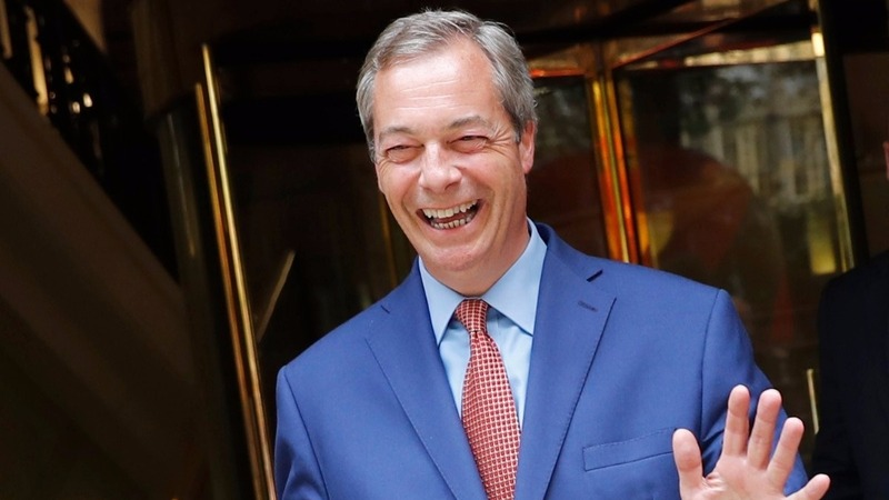 Triumph for 'Brexiteer' Nigel Farage