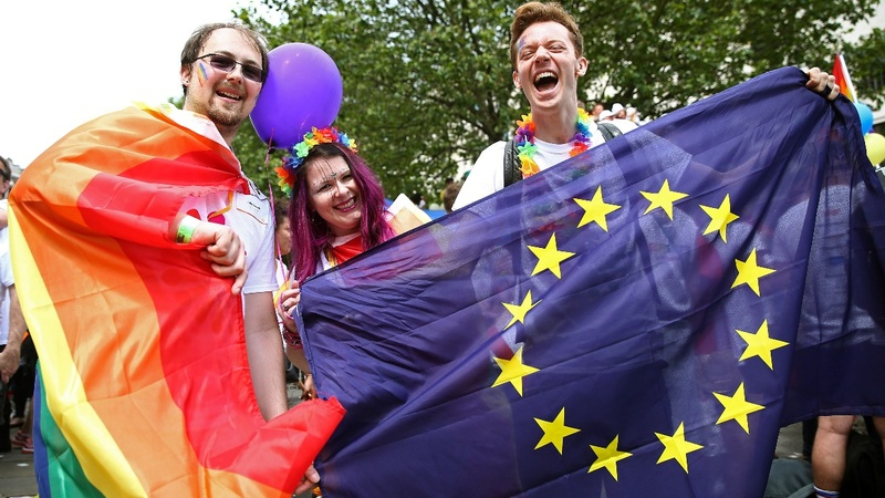INSIGHT: Thousands celebrate London gay pride