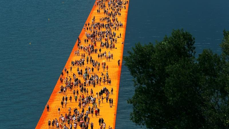 INSIGHT: Italians walk on water